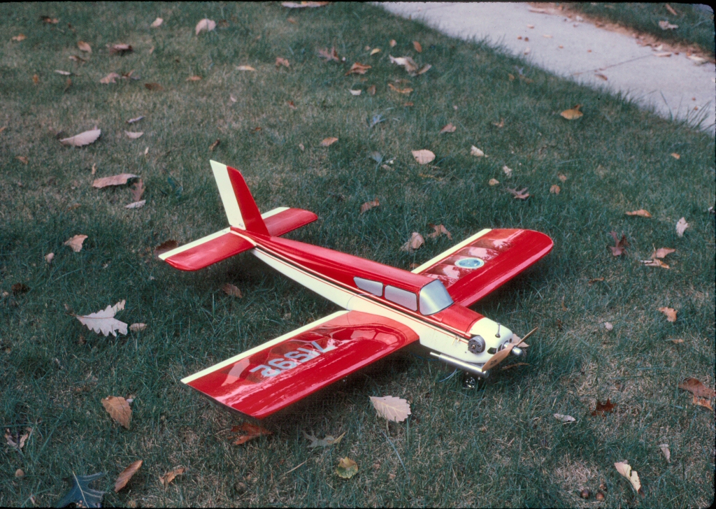 My First R/C Model Airplane